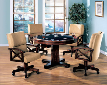 Montclare 5 Piece Game Table Set
