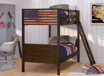 Patriot Twin Bunk Bed