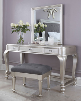 Elena Vanity Set with Stool