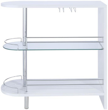 Neo Gloss White Bar Unit