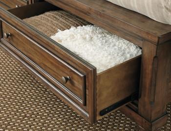 Belton Panel Storage Bed