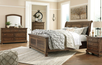 Belton Sleigh Bed
