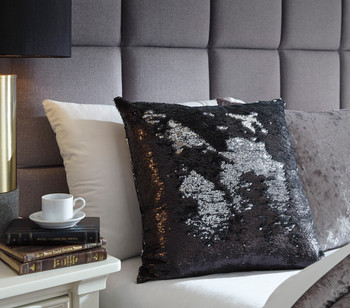 Letizia Black & Silver Pillow