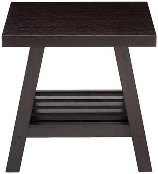 Nash Dark Brown End Table