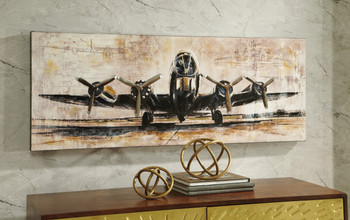 "Takeoff 48"" Wide Wall Art"