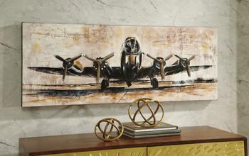 "TAKEOFF 48"" Wide Wall Art"