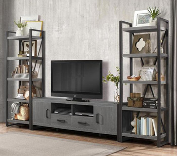 "Rordan 3Pc Wall Unit with 76"" TV Stand"