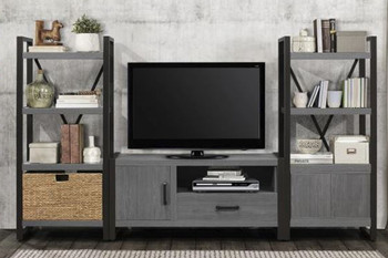 "Rordan 3Pc Storage Wall Unit with 51"" TV Stand"