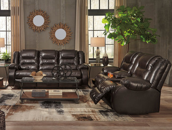 HOLTEN Brown Reclining Livingroom