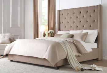 Samara Brown Storage Bed