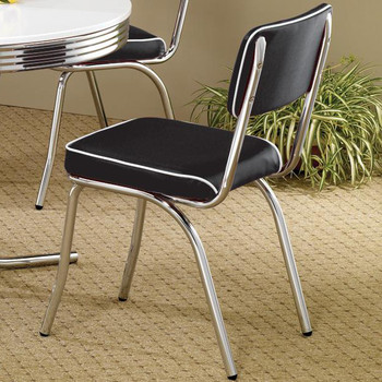 Bel Air Black Dining Chair