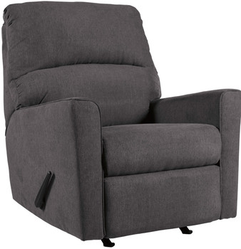 Ceylan Charcoal Rocker Recliner