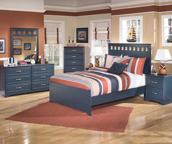 Elli Blue Bedroom Set