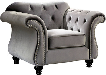 Juliette Gray Arm Chair