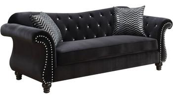 Juliette Black Sofa