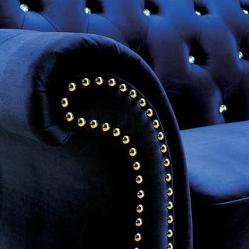 Juliette Blue Sofa & Loveseat