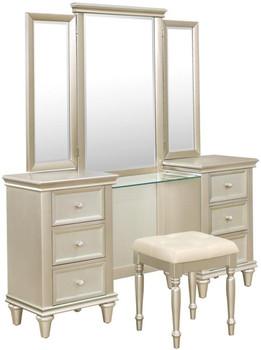 ARIELLA Vanity Dresser with Mirror