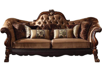 Ackerley Brown Sofa & Loveseat