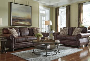 GIBRALTAR Espresso Livingroom Set