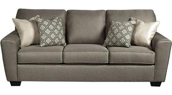 """MAKEILA Cashmere 87"""" Wide Sofa"""
