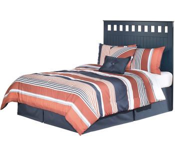 Elli Blue Headboard Bedroom Set