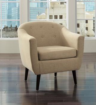 Edna Beige Arm Chair