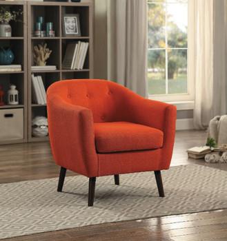 Keo Orange Arm Chair