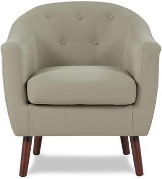 Keo Beige Beige Arm Chair