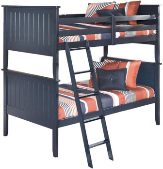 Elli Blue Bunkbed Bedroom Set