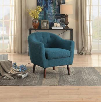 Keo Blue Beige Arm Chair