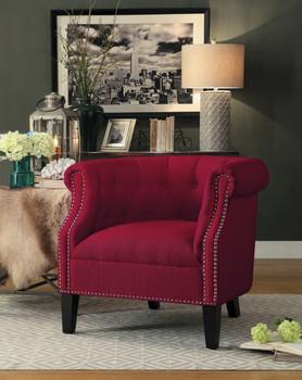 Richi Red Arm Chair