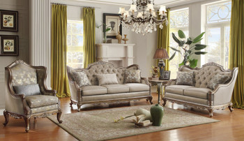 Cecile Sofa and Loveseat