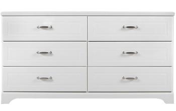 Elli White Dresser & Mirror