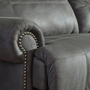 Frederick Gray Zero Wall Recliner