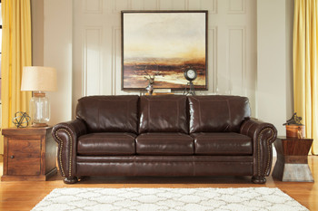 Erville 100% Leather Sofa