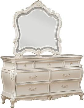 Antoinette Pearl Dresser & Mirror