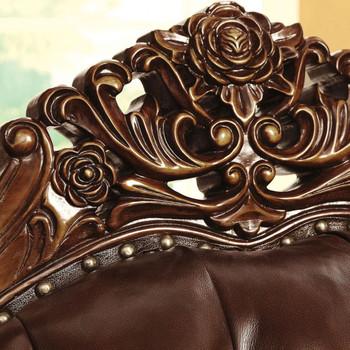 Southampton Leather Sofa & Loveseat