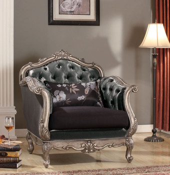 Antoinette Platinum Chair