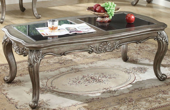 Antoinette Platinum Coffee Table