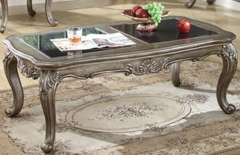 Antoinette Platinum Coffee Table