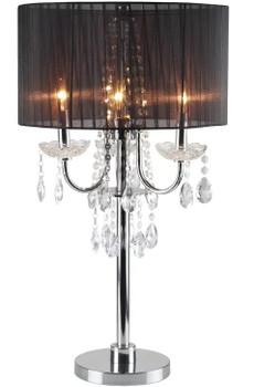 "Eunice Black 29.5"" Table Lamp"