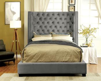 RYDEN Gray Bed