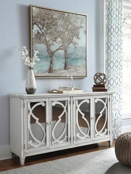 Hailey White Cabinet