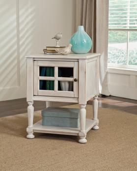 Melina White Door Table