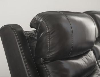 Pillement Power Recliner with Adjustable Headrests
