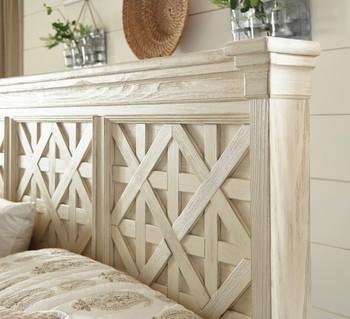 FLEMING White Bedroom Set