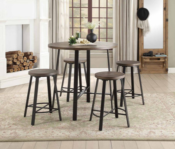 Brant 5-PC Counter Height Set