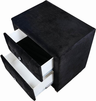 QUINTON Black Night Stand