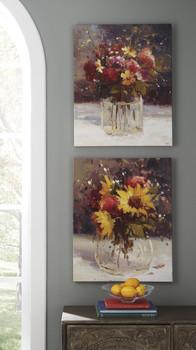 Suri Floral Wall Art Set