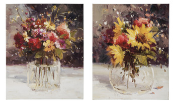 Suri Floral Wall Art Set